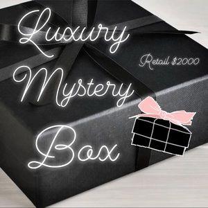 15+ Items Luxury Designer Mystery Box Retail $2000